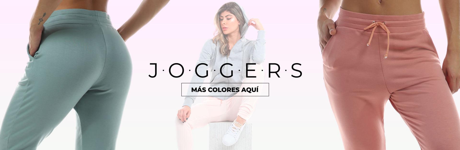 joggers de dama, tenemos variedad de estilos para lucir cómoda, fresca y a la moda