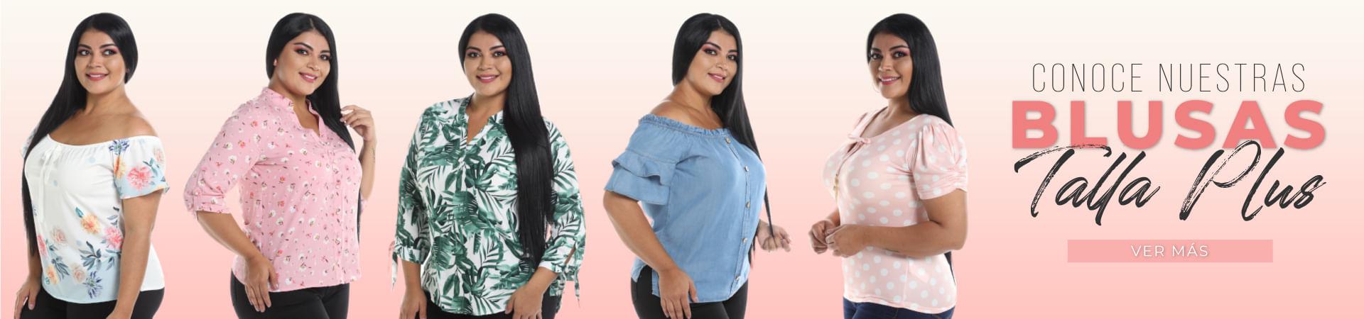blusas talla grande para dama, tallas plus, todos los estilos
